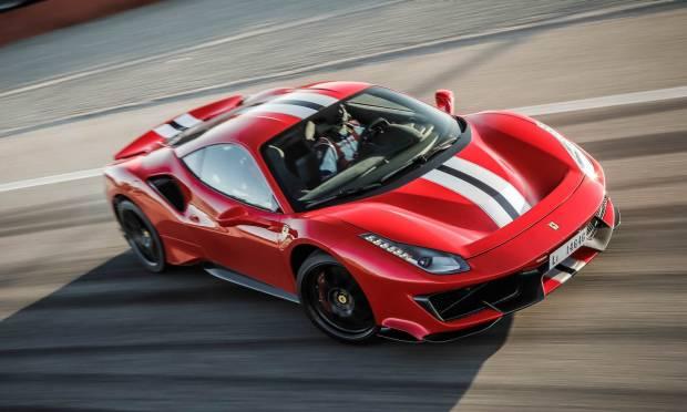 Sul numero di maggio La prova della Ferrari 488 Pista