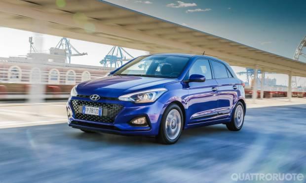 Sul numero di marzo La prova della Hyundai i20