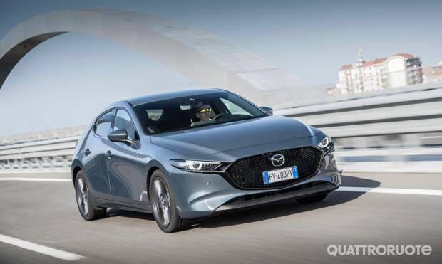 Sul numero di aprile La prova della Mazda3 1.8L Skyactiv-D Exclusive