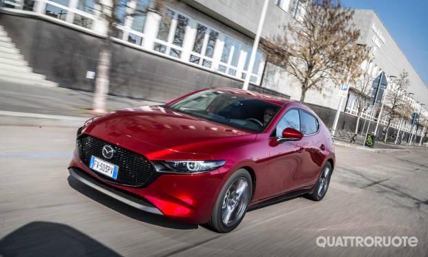 Q Hybrid La prova della Mazda3 2.0L Skyactiv-G M-Hybrid Exclusive
