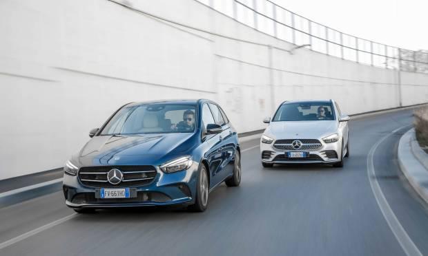 Sul numero di aprile Mercedes-Benz B 180 Automatic Sport Plus vs B 200 d Automatic Premium