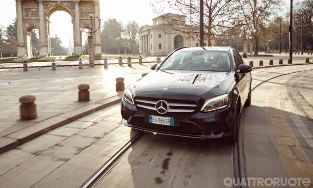 Sul numero di febbraio La prova della Mercedes C 220 d SW Auto Business Extra