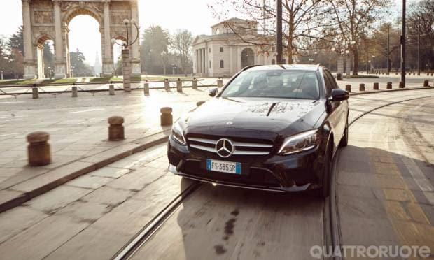Mercedes Classe C SW La prova della 220 d Auto Business Extra