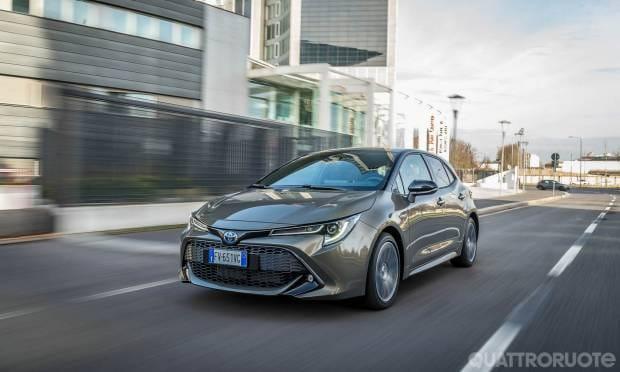 Q Hybrid La prova della Toyota Corolla 1.8 Hybrid Style