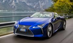 Lexus LC, rinuncia all'ibrido e punta sul V8